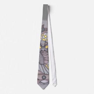 Steampunk Owl Tie