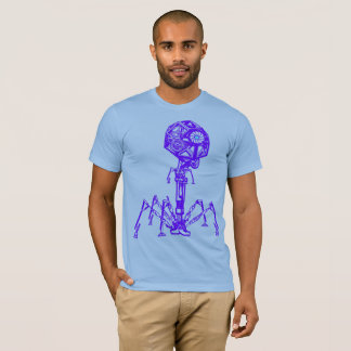 Steampunk_Phage in Living Colour T-Shirt