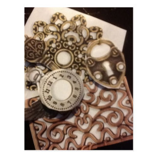 Steampunk Post Cards