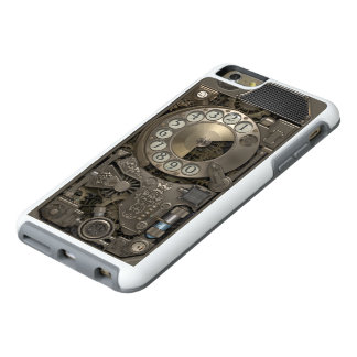 Steampunk Rotary Metal Dial Phone. OtterBox iPhone 6/6s Plus Case