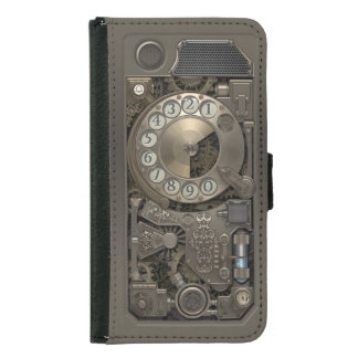 Steampunk Rotary Metal Dial Phone.