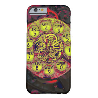 steampunk rotary style iphone barely there iPhone 6 case