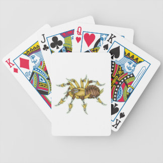steampunk spider poker deck