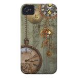 Steampunk Time Machine iPhone 4 Case