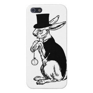 Steampunk Tuxedo Bunny Rabbit Top Hat iPhone 5 iPhone 5 Cover