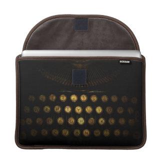 Steampunk Typewriter Macbook Sleeve