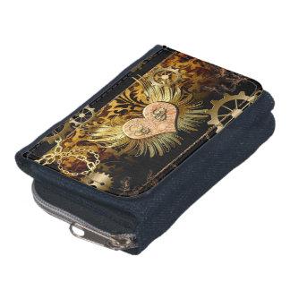 Steampunk, wonderful heart wallet