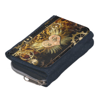 Steampunk, wonderful heart wallets