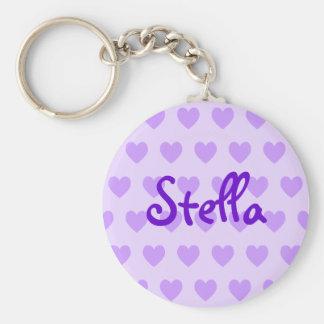 Stella in Purple Key Ring