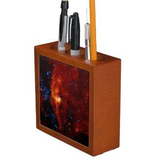 STELLAR BIRTH (an outer space design) ~ Desk Organizer