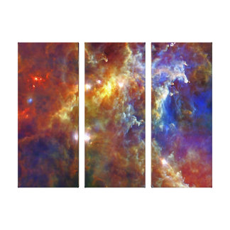 Stellar Nursery in Rosette Nebula Canvas Print