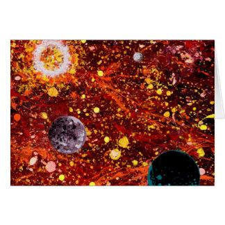 Stellar Nursery (outer space theme) ~ Greeting Card