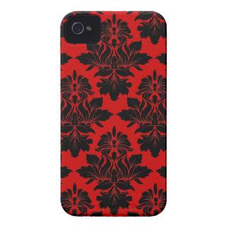 StellaRoot Capulet Vintage Rose Damask Pattern iPhone 4 Case-Mate Cases