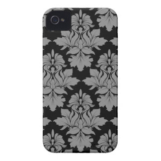 StellaRoot Capulet Vintage Rose Damask Pattern iPhone 4 Cases