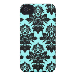 StellaRoot Capulet Vintage Rose Damask Pattern iPhone 4 Covers
