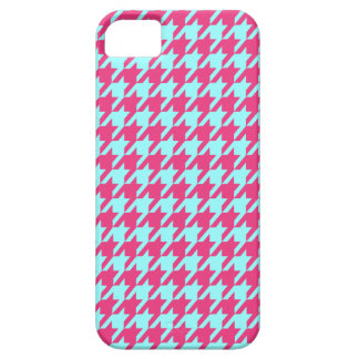 StellaRoot Houndstooth Cotton Candy Vintage iPhone 5 Cases