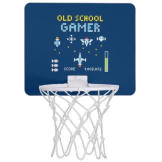 Stellarship Retro Game - Mini Basketball Hoop