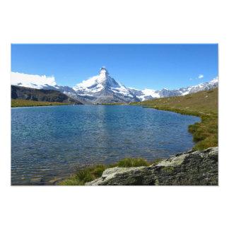 Stellisee, Valais Alps Photo Art