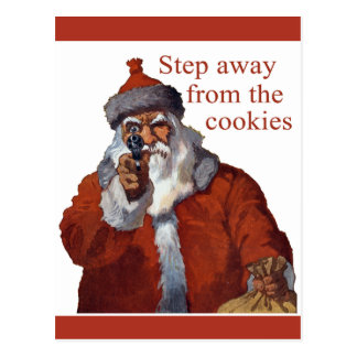 Step Away from the Cookies Postcard