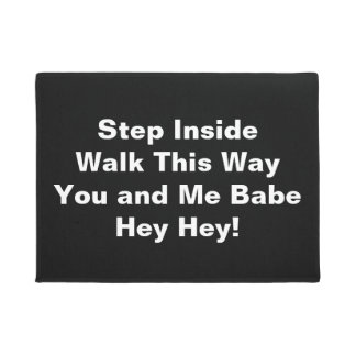 Step Inside - Door Mat