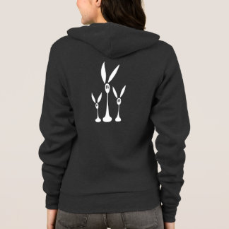 Step, Trip and Fall the Shadow Rabbits Hoodie