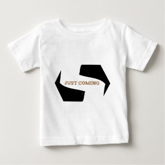Stephen! Justing Coming Eroded Baby T-Shirt