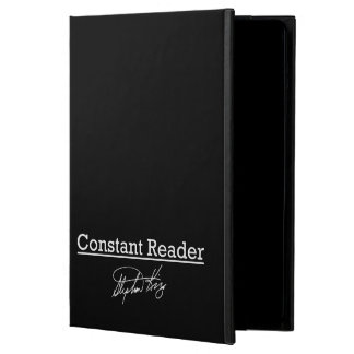 Stephen King, Constant Reader iPad Air Cover