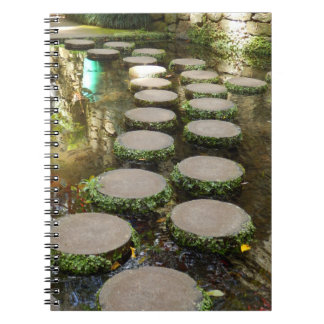 Stepping Stones Photo Notebook