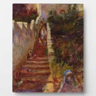 Steps in Algiers by Pierre-Auguste Renoir Photo Plaques