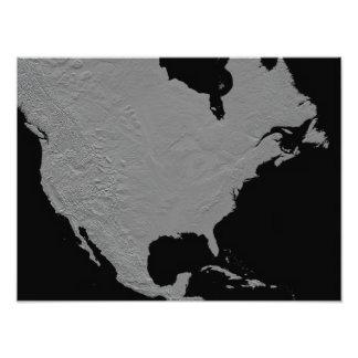 Stereoscopic view of North America Art Photo