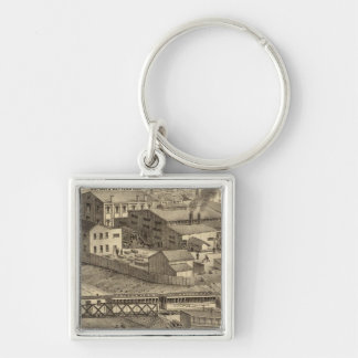 Steubenville Foundry and Machine Works Key Ring
