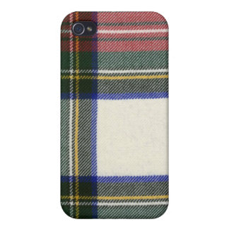 Stewart Dress Modern Tartan iPhone 4 Case