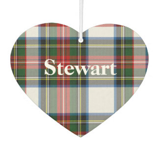 Stewart Dress Tartan Plaid Air Freshener