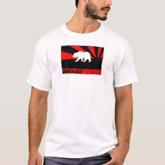 STF WHITE RED BEAR T-Shirt