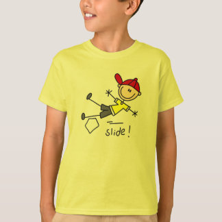 Stick Figure Baseball T-Shirt