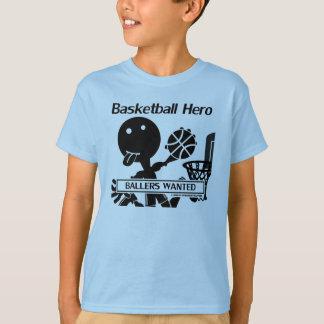 Stick Figure Basketball Hero T-Shirt