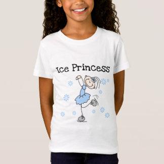 Stick Figure Ice Princess T-Shirt