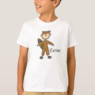 Stick Figure In Raccoon Suit Shirt