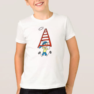 Stick Figure on Monkey Bars T-Shirt