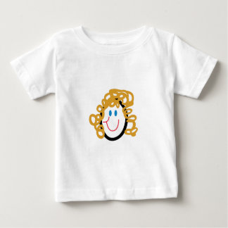 Stick Mom Face Baby T-Shirt