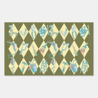 Sticker DIY Home Improvement Tools Triangle