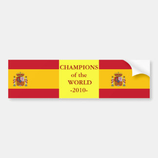 Sticker Flag of the Spain