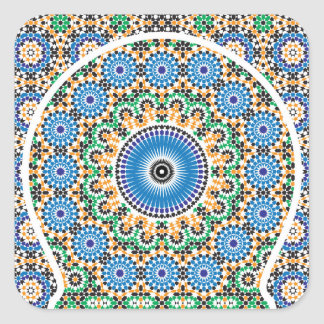 Sticker in Moroccan Style