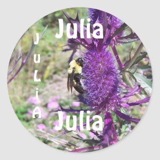 sticker  name, JuLiA