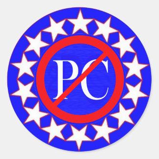 "sticker_NO ""PC"" Classic Round Sticker"