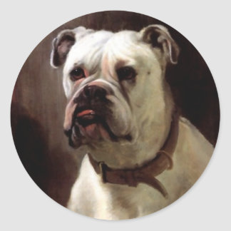 Sticker Vintage Bullie Bulldog Bill Pay Stationery