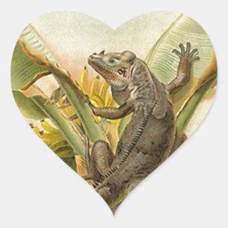 Sticker Vintage Wildlife Lizard Iguana Crawl Iggy