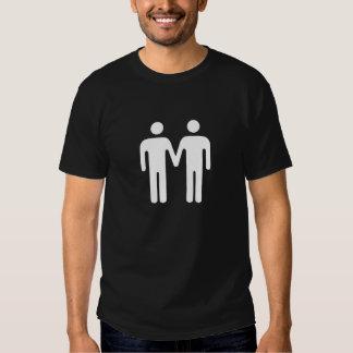 Stickmen Holding Hands (Peace) T-Shirt