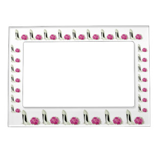 Stiletto and Roses Magnetic Frame