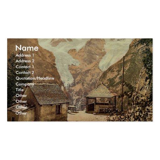 Stilferjoch (i.e., Stilfer Joch), Weisser Knott, T Business Card Template